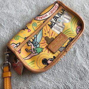 Dooney & Bourke Disney Sketch Flap Wristlet Wallet
